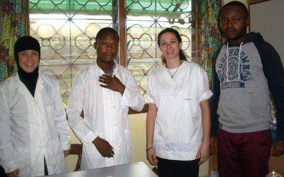 To κοινωνικό ιατρείο της Κινσάσας
